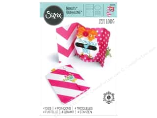 Sizzix Thinlits Die Card Ornate Label Fold Along by Jen Long