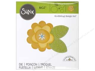 Sizzix Bigz Die Flower Layers & Leaf 2 by Doodlebug
