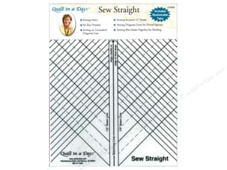 Quilting Rulers: Quilt In A Day Ruler Sew Straight