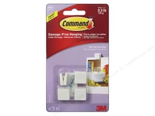 Command Adhesive: Command Adhesive Hook Party Mini Spring Clip 4pc