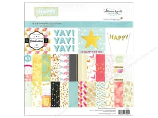 Celebration Cardstock: Webster's Pages Allison Kreft Happy Collection Kit