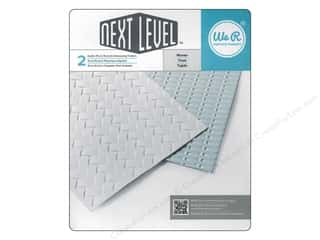 embossing folders: We R Memory Embossing Folder Woven