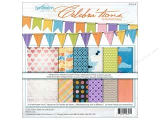 """Weekly Specials Glue Dots: Spellbinders Paper Pack 12""""x 12"""" Celebra'tions Special Occasions"""