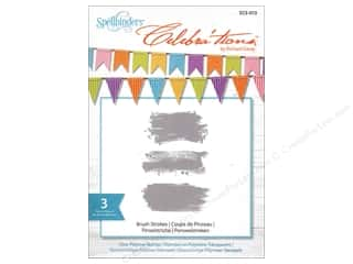 paint brush stroke: Spellbinders Stamp Celebra'tions Brush Strokes