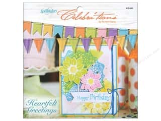 Weekly Specials Scrapbooking Organizers: Spellbinders Celebra'tions Inspiration Heartfelt Greetings Book