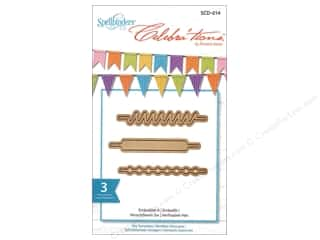 dies: Spellbinders Celebrations Die Embellish It