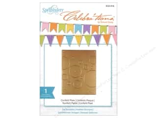 die cutting machines: Spellbinders Celebrations Die Confetti Plate