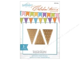 die cuts: Spellbinders Celebrations Die Pennant Trio