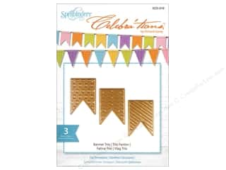 die cuts: Spellbinders Celebrations Die Banner Trio