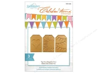Spellbinders Celebrations Die Tag Trio