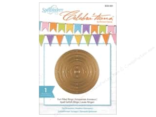 dies: Spellbinders Celebrations Die Fun Filled Rings