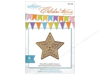 Spellbinders Celebrations Die Pierced Stars