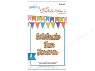 Spellbinders Celebrations Die Fun Sentiments