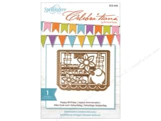 die cuts: Spellbinders Celebrations Die Happy Birthday