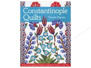 books & patterns: C&T Publishing Constantinople Quilts Book by Tamsin Harvey