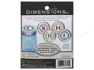 Weekly Specials Pattern: Dimensions Cross Stitch Kit Jar Topper Monogram