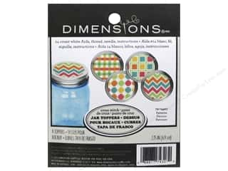 yarn & needlework: Dimensions Cross Stitch Kit Jar Topper Patterns