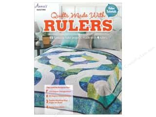Quilting Rulers: Annie's Quilts Made With Rulers Book