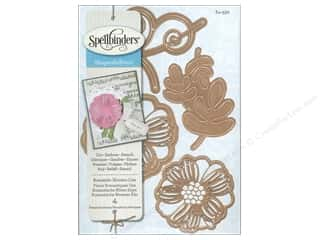 die cutting machines: Spellbinders Shapeabilities Die Romantic Blooms 1