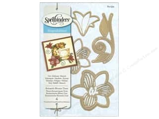 die cutting machines: Spellbinders Shapeabilities Die Romantic Blooms 3