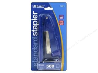 craft & hobbies: Bazic Basics Standard Metal Stapler with 500 Staples