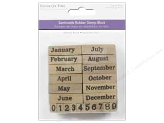 Rubber Stamps: Multicraft Rubber Stamp Pack Calendar