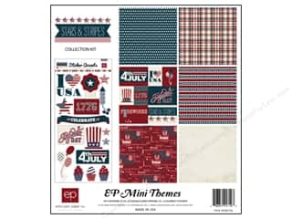 Weekly Specials Echo Park Collection Kit: Echo Park 12 x 12 in. Collection Kit Stars & Stripes