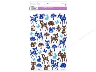 stickers  glitter: Multicraft Sticker Glitter Woodland Friends