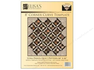 "Elisa's Backporch Template 8"" Corner Curve"