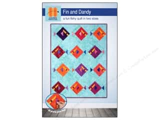 Quilted Fish, The: Hunter's Design Studio Fin And Dandy Pattern