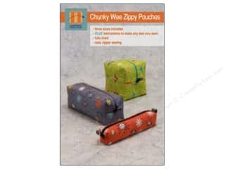 Tote Bags / Purses Patterns: Hunter's Design Studio Chunky Wee Zippy Pouches Pattern