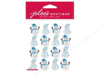 stickers: Jolee's Boutique Stickers Repeats Snowmen