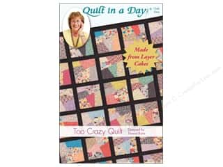 Quilting: Quilt In A Day Too Crazy Quilt Pattern