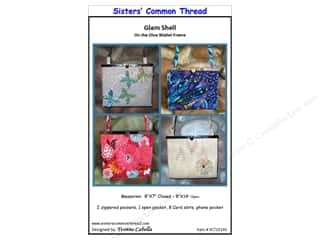 Tote Bags / Purses Patterns: Sisters' Common Thread Glam Shell Pattern