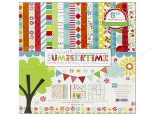 Weekly Specials Echo Park Collection Kit: Echo Park 12 x 12 in. Collection Kit Sweet Summertime