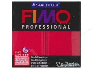Fimo Professional Clay 2 oz. Carmine