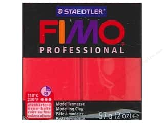 Fimo Professional Clay 2 oz.True Red