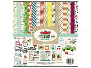 Weekly Specials Echo Park Collection Kit: Echo Park 12 x 12 in. Collection Kit Homegrown