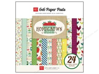 Echo Park Paper Company: Echo Park Paper Pad 6 x 6 in. Homegrown Collection