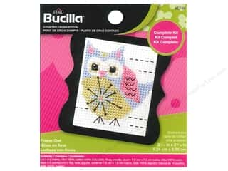 Bucilla Counted Cross Stitch Kit 2 1/2 in. Mini Flower Owl