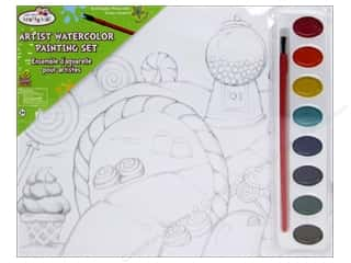 Weekly Specials Kids Crafts: Multicraft Krafty Kids DIY Lil Artist Painting Set Candy Land