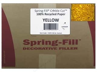 paper yellow: Krinkle Shred by Cindus 10 lb. Canary Yellow/Yellow