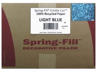 craft & hobbies: Cindus Krinkle Shred 10 lb. Light Blue