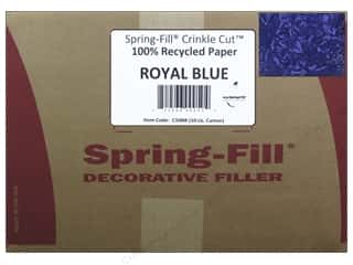 craft & hobbies: Cindus Krinkle Shred 10 lb. Royal Blue