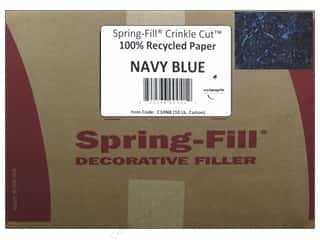 craft & hobbies: Cindus Krinkle Shred 10 lb. Navy Blue