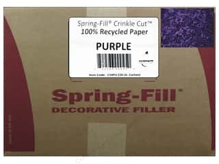 craft & hobbies: Krinkle Shred by Cindus 10 lb. Purple
