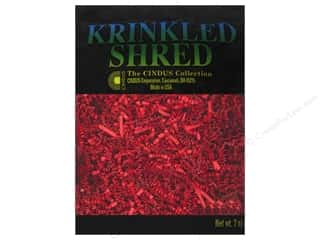 Cindus: Krinkle Shred by Cindus 2 oz. Flame Red