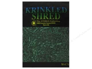 Krinkle Shred by Cindus 2 oz. Hunter Green