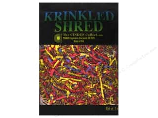 craft & hobbies: Krinkle Shred by Cindus 2 oz. Bright Mix