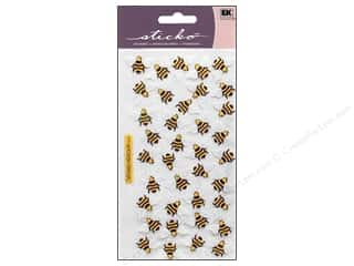 Spring Stickers: EK Sticko Stickers Bees